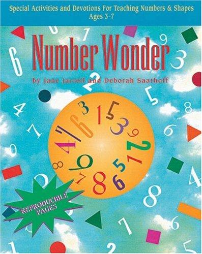9780805403602: Number Wonder: Teaching Basic Math Concepts to Preschoolers