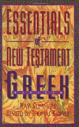9780805410013: Essentials of New Testament Greek