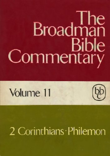 9780805411119: 011: The Broadman Bible Commentary, Volume 11