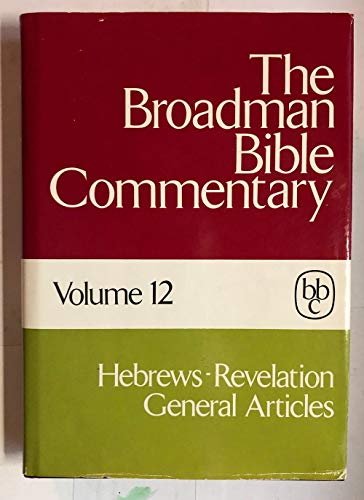 9780805411126: The Broadman Bible Commentary, Volume 12