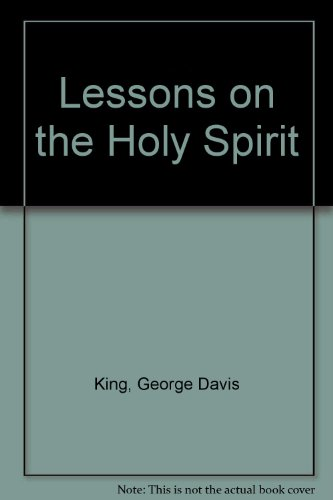 9780805411539: Lessons on the Holy Spirit