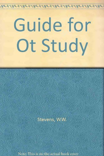 9780805412109: Guide for Old Testament Study