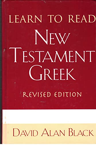 9780805415452: Learn to Read New Testament Greek (English and Ancient Greek Edition)