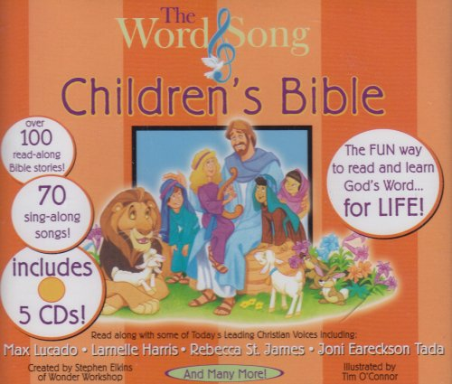 9780805416923: The Word & Song Children's Bible (Book not included)