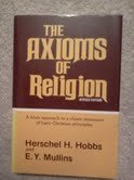 9780805417074: The axioms of religion