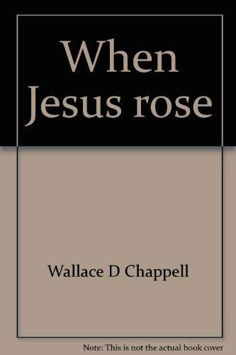 9780805422184: When Jesus Rose: Sermons for the Easter Season