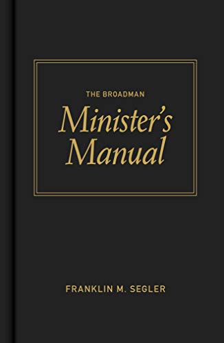 9780805423075: The Broadman Minister's Manual