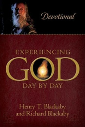 Experiencing God with Experiencing God Day-by-Day Devotional Journal (0805430385) by Henry T. Blackaby