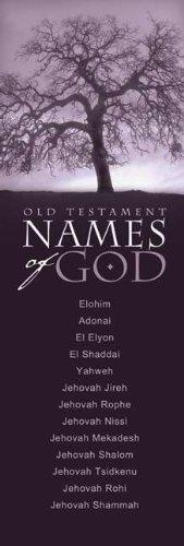 9780805439533: Names of God - Old Testament Bookmark