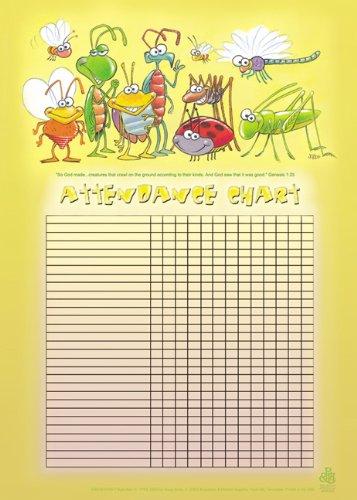 9780805439588: Bugs Attendance Chart