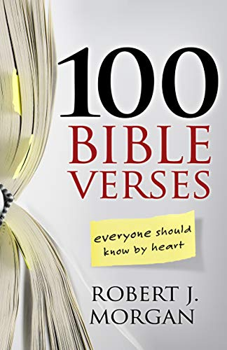 9780805446821: 100 Bible Verses Everyone Should Know by Heart