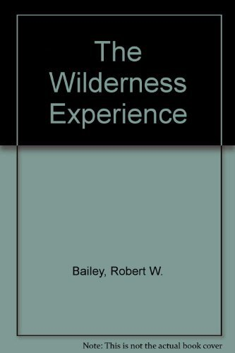 9780805450781: The Wilderness Experience