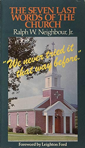 9780805455274: The Seven Last Words of the Church