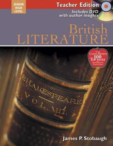 British Literature Teacher: James Stobaugh
