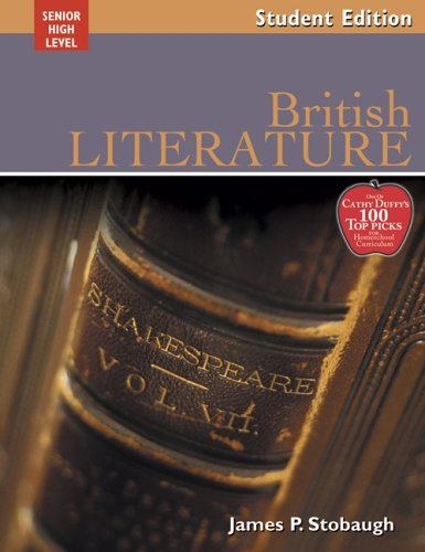 9780805458947: British Literature: Encouraging Thoughtful Christians To Be World Changers