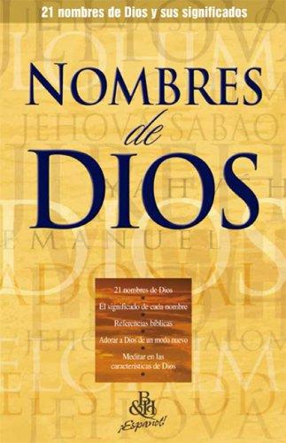 9780805466348: Nombres De Dios/Names of God (Spanish Edition)