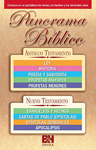 9780805466607: PANORAMA BIBLICO FOLLETO
