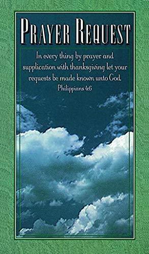 9780805473681: Pew Card Prayer Request