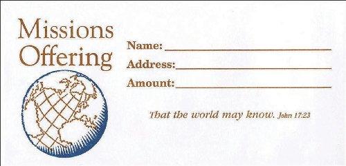9780805474558: Missions Offering Envelope 100pk