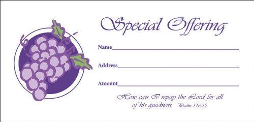 9780805474565: Special Offering Envelope 100pk