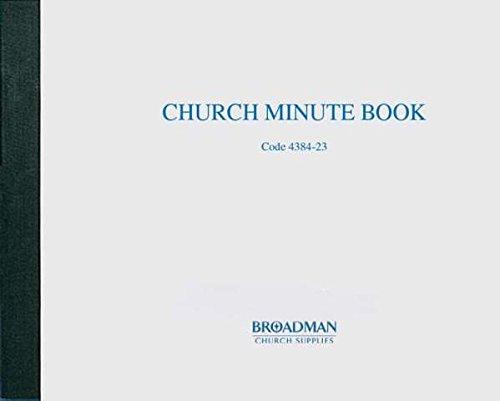 9780805480832: Church Minute Book