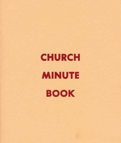 9780805480870: Church Minute Book