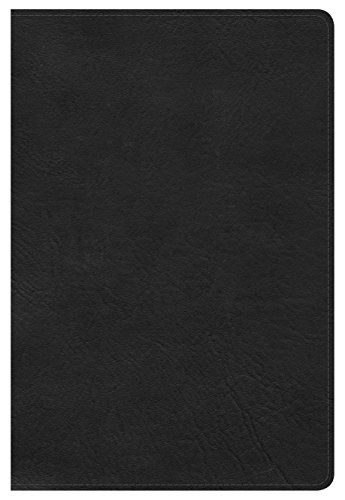 9780805489514: NKJV Large Print Personal Size Reference Bible, Black LeatherTouch