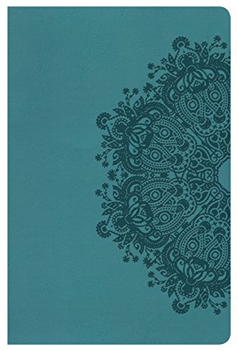 HCSB Ultrathin Reference Bible, Teal LeatherTouch: Holman Bible Staff