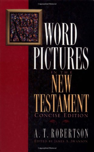 9780805490558: Word Pictures in the New Testament