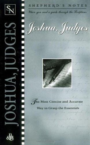 9780805490589: Joshua and Judges (Shepherd's Notes)