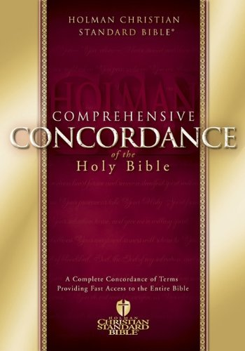 Comprehensive Concordance of the Holy Bible (Hardcover)