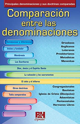 9780805495515: Comparacion Entre Las Denominaciones (Coleccion Temas de Fe)