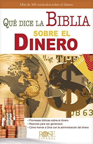 9780805495522: Que dice la Biblia sobre el dinero (Coleccion Temas de Fe) (Spanish Edition)
