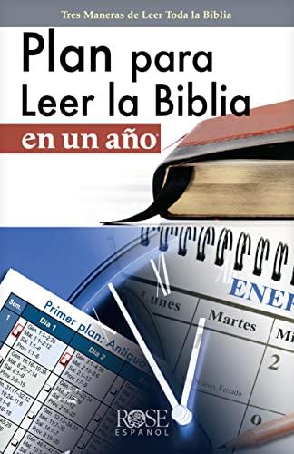 9780805495690: Plan para Leer la Biblia en Un Año (Colección Temas de Fe) (Spanish Edition)