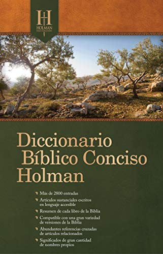 Span-Holman Concise Bible Dictionary (Repack)