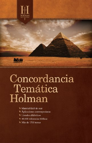 9780805495751: Concordancia Temática Holman (Spanish Edition)