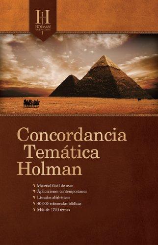 9780805495751: Concordancia Tematica Holman
