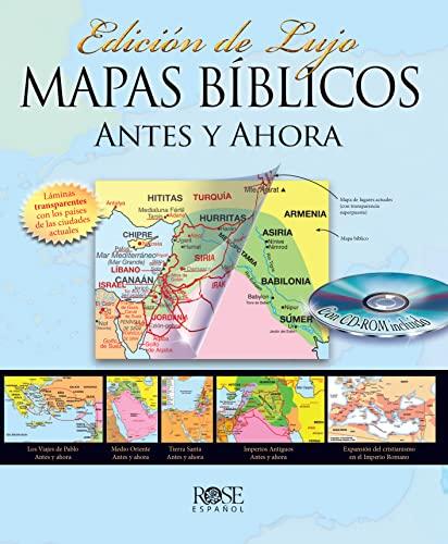 9780805495836: Mapas Biblicos Antes y Ahora: Edicion de Lujo