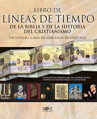 9780805495959: Libro de Líneas de Tiempo Bíblicas y de la Historia del Cristianismo