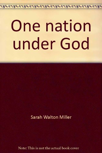 9780805497236: One nation under God