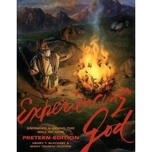 9780805498592: Experiencing God: Knowing and Doing the Will of God: Preteen Edition