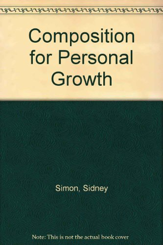 9780805501353: Composition for Personal Growth