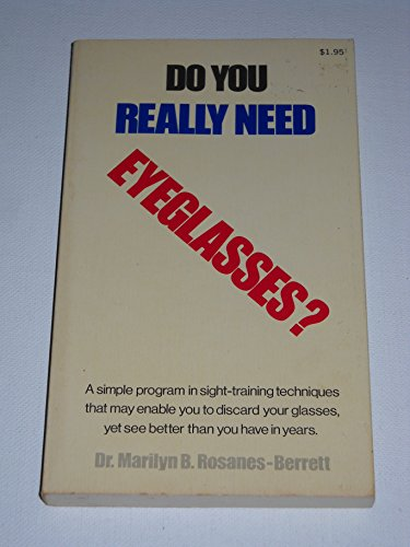 9780805501995: Do you really need eyeglasses?