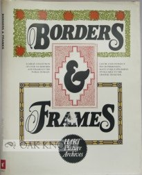 9780805512519: Borders & frames (Hart picture archives)