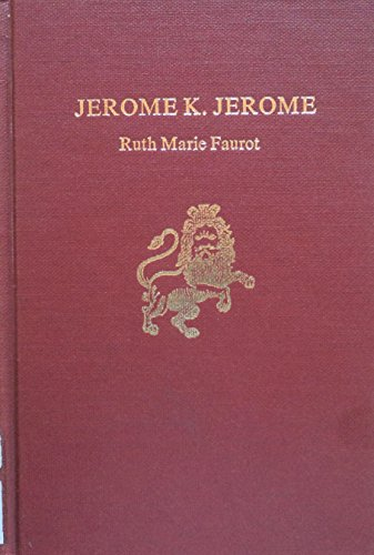 9780805712919: Jerome K.Jerome (English Authors)