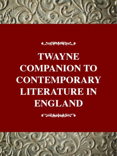 Twayne Companion to Contemporary Literature in English: Group, Gale; Dillard,