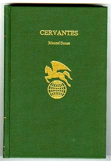 Cervantes (World Authors): Duran, Manuel