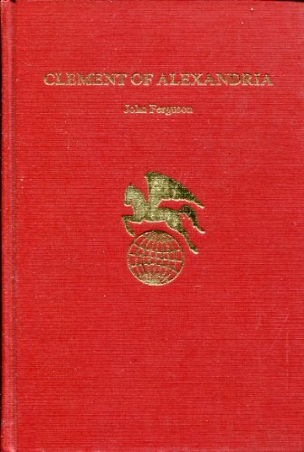 9780805722314: Clement of Alexandria