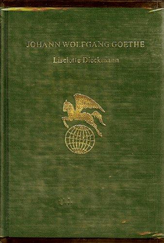 9780805723786: Johann Wolfgang Von Goethe