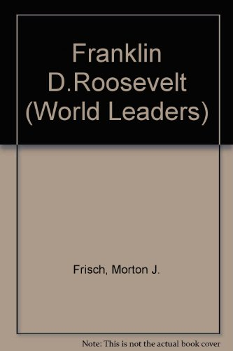 Franklin D. Roosevelt. The Contribution of the New Deal to American Political Thought and Practice